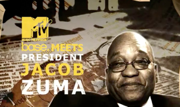 MTV BASE MEETS JACOB ZUMA