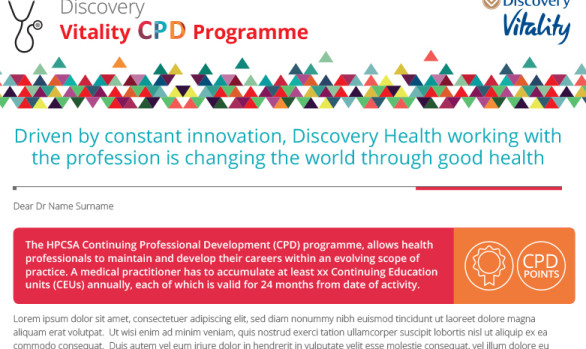 DISCOVERY VITALITY CPD PROGRAMME