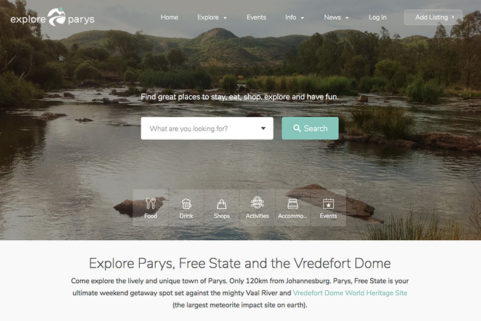 Explore Parys Directory Listing & Tourism Website